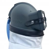 Шлем для пескоструйных работ VECTOR с дополнительным напылнением
